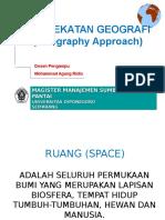 MODUL 2 - 2011 Pendekatan Geografi