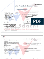 TSD and Time Work Shortcuts Formulas for CAT - EDUSAATHI