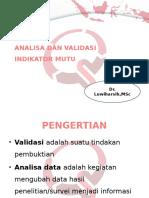 4. ANALISA DAN VALIDASI INDIKATOR MUTU [Autosaved].pptx