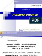 Guidance on Personal Finance