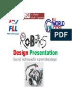 FLL Robot Design 2014