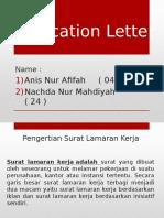 Application Letter Anis