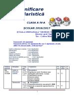 Clasa a IV a Planificare Calendaristica Codrea Mariuta