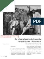 La fotografía como instrumento terapéutico en salud mental.