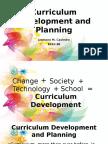 Curriculum Development and Planning