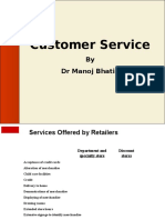 Customer Service Retail
