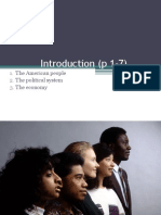 Introduction. the Ame Pp, The Political Sys,The Economy