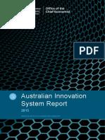 Australian Innovation System Report 2015