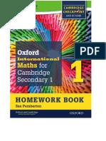 Cambridge Checkpoint Workbook 1