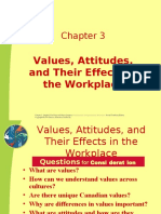 6897208 Chapter 3Values Attitudes Job Satisfaction