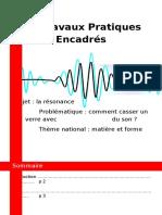 TPE - La résonance mécanique