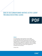 Docu50161 White Paper Documentum Native UCF Client Troubleshooting Guide