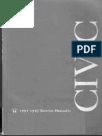 Honda Civic 1992 - 1995 Service Manual.pdf
