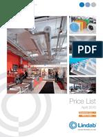 Lindab Price List 2015.pdf
