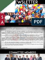 UQMSA Newsletter Semester 1, 2016