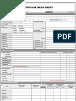 Csc Form 212 Pds2005