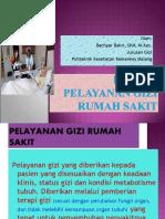 Konsep Pelayanan Gizi Rumah Sakit