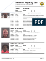 Peoria County Jail Booking Sheet for Sept. 16, 2016