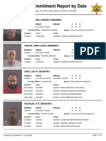 Peoria County Jail Booking Sheet for Sept. 18, 2016