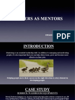 Leaders as Mentors