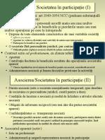 Curs - Asociere in Participatie Si Garantii Personale