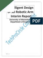 Intelligent Design of 3D Robotic Arm
