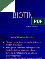 As. Pantotenat & Biotin