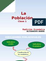 Clase 1 Indicadores de Poblacion