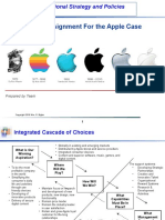 Organizational Strategy - Apple Case Study