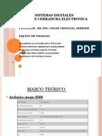 Proyecto de Cerradura Electronica