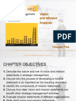 Chapter 5- Vision and Mission Analysis