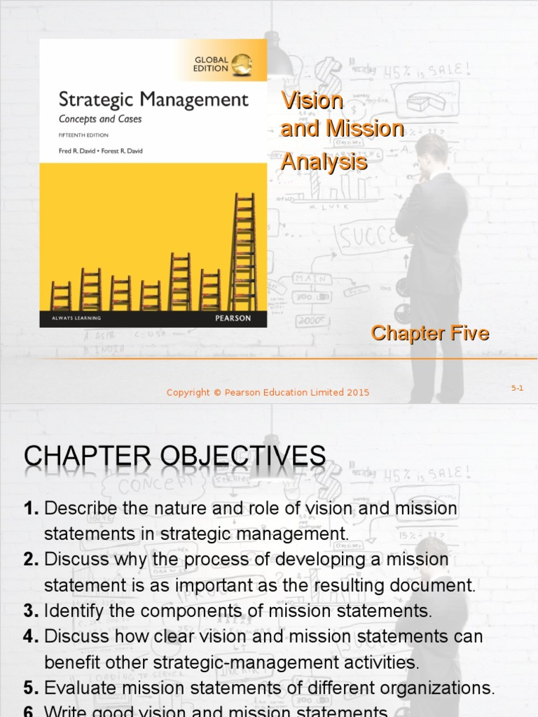 mission and vision statements case study