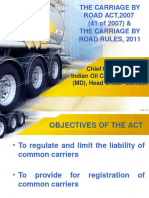 Carriage by Road Act