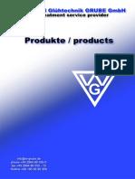 Produktkatalog GRUBE 1