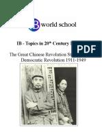 China Prt 1 1911-1949