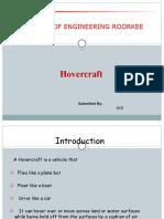 MECH Hovercraft PPT