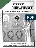 Bainville Jacques - Petite Histoire de France