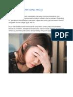 Pengertian Trauma Kepala Ringan