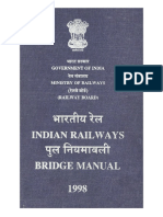 Updated Indian Railway Bridge Manual