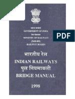 Updated Indian Railway Bridge Manual