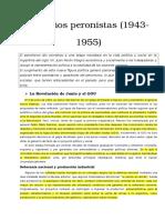 Los Años Peronistas (1943-1955) SM
