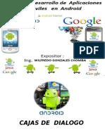 Cajas de Dialogo Android1