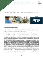 Tema_11 Generalidades Relación Personal Sanitario-Enfermo