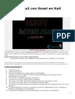 Hackear Wpa2 Con Linset en Kali Linux