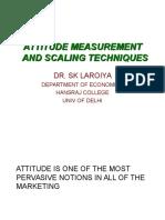 Mr Attitude Measurement