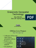 Grassroots Geographic Technology