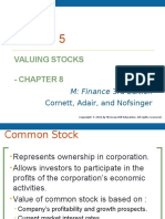 Lecture 5 (Equity Market and Stock Valuation)