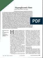 Hyperosmolar Hyperglycemic State