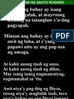 Awit Sa Ina Ng Santo Rosario