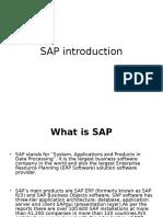 14085 SAP Introduction